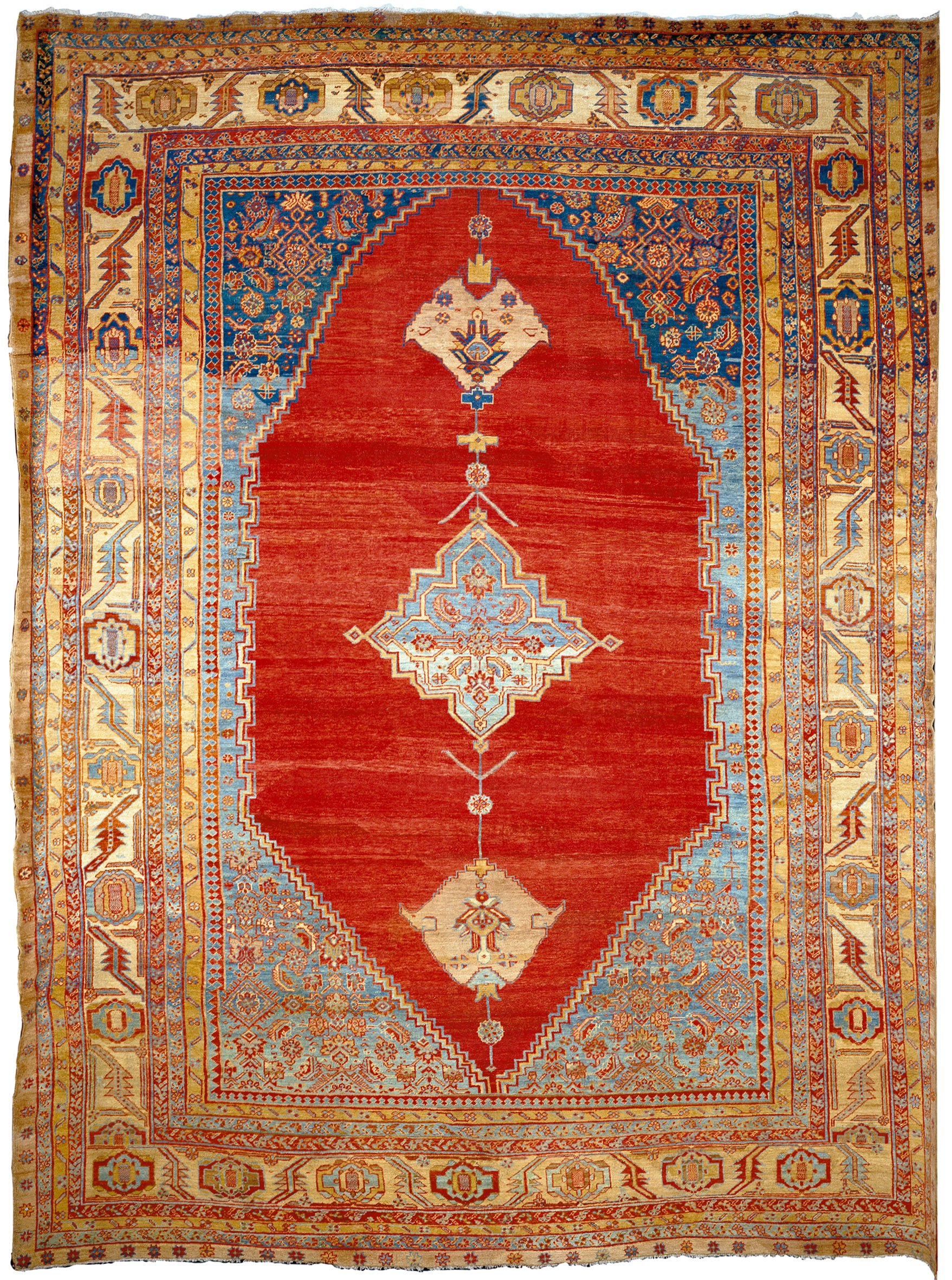 antique Bakshaish rug La Datina
