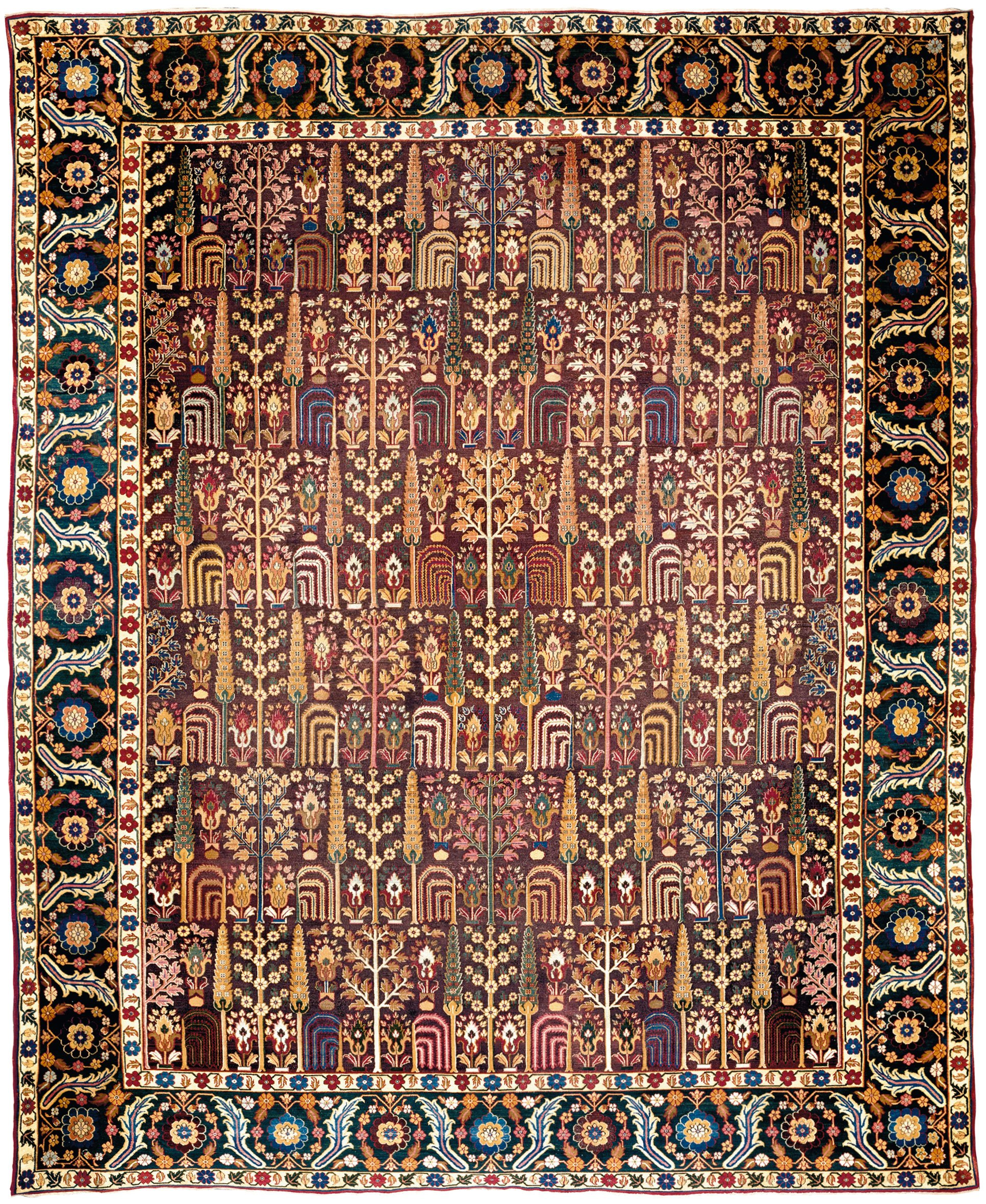 antique Lahore rug La Datina