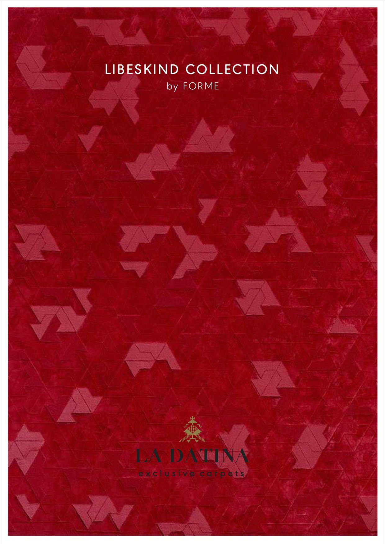 Libeskind carpet catalogue La Datina